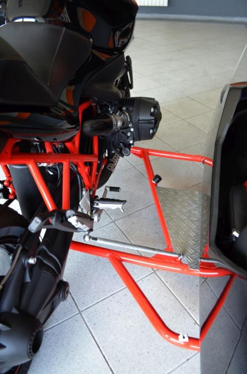 BMW R1200R z WÓZKIEM BOCZNYM firmy KALICH ! 2010r