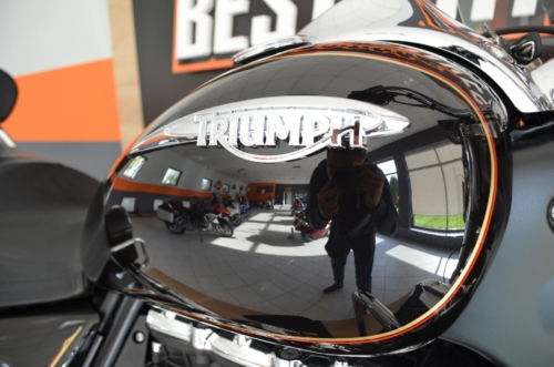 GWARANCJA !!! TRIUMPH ROCKET TOURING Stan Perfekt ABS