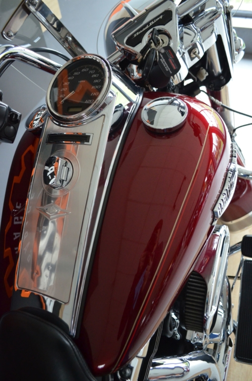 GWARANCJA !!! Flhr Road King PIĘKNY ! Perfekt Rinehart Fuelpack ABS
